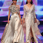 NLD/Hilversum/20141027 - Finale Holland Next Top Model 2014, Debbie Dhillon, Sanne de Roo