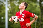 UITGEEST - 09-07-2016, AZ - FC Volendam, Complex FC Uitgeest, 8-1, AZ speler Wout Weghorst heeft de 6-0 gescoord.