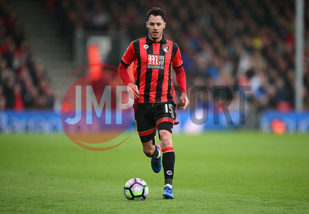 Adam Smith of Bournemouth - Mandatory by-line: Alex James/JMP - 11/03/2017 - FOOTBALL - Vitality Stadium - Bournemouth, England - Bournemouth v West Ham United - Premier League