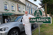 Bad St. Leonhard, Carinthia, Austria. Trippolts Zum Bären gourmet restaurant. Josef Trippolt senior.