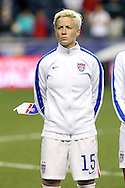 24 October 2014: Megan Rapinoe (USA). The United States Women's National Team played the Mexico Women's National Team at PPL Park in Chester, Pennsylvania in a 2014 CONCACAF Women's Championship semifinal game, which serves as a qualifying tournament for the 2015 FIFA Women's World Cup in Canada. The United States won the game 3-0. With the victory the U.S. advanced to the championship game and qualified for next year's Women's World Cup.