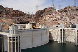 Hoover Dam and lake Mead Area