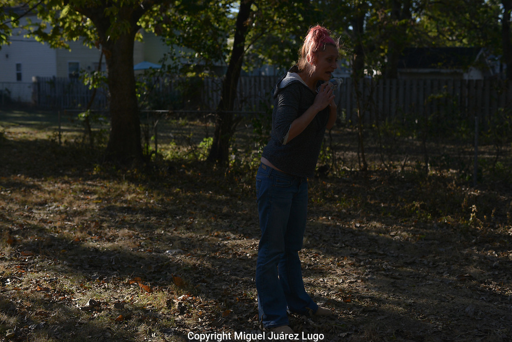 After injecting heroin, Tara--a mother of five who did not want her last name used--begins having a kind of panic attack, breathing loudly and yelling, a state that lasts a few minutes. After it ends, she will be high for several hours wandering around the South Side neighborhood of Hamilton, Ohio, where heroin addiction is rampant.