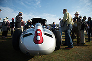 August 14-16, 2012 - Pebble Beach / Monterey Car Week. Mercedes Grand Prix car