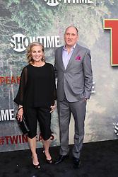 May 19, 2017 - Los Angeles, CA, USA - LOS ANGELES - MAY 19:  Maureen McCormick, Michael Cummings at the ''Twin Peaks'' Premiere Screening at The Theater at Ace Hotel on May 19, 2017 in Los Angeles, CA (Credit Image: © Kay Blake via ZUMA Wire)