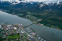 Juneau (left) & West Juneau, Douglas Island