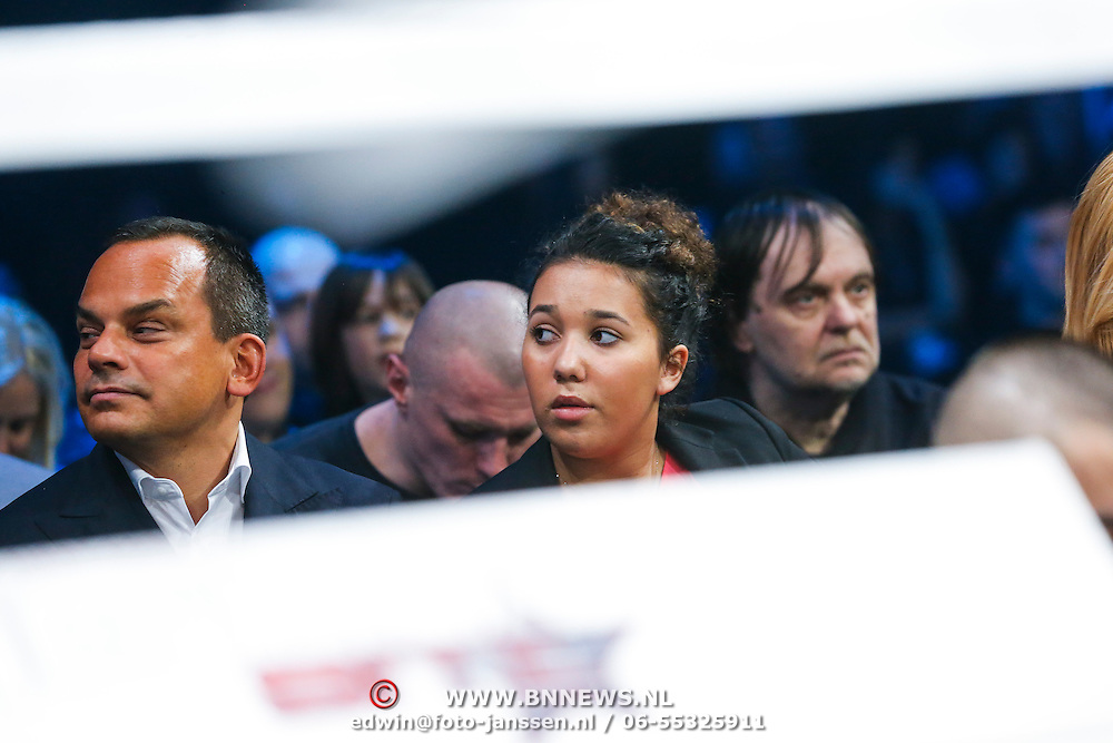 CRO/Zagreb/20130315- K1 WGP Finale Zagreb, Robert halewijn en dochter Maxim Gullit