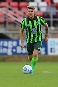 AFC Wimbledon midfielder Jake Reeves (8) during the Pre-Season Friendly match between Dagenham and Redbridge and AFC Wimbledon at the London Borough of Barking and Dagenham Stadium, London, England on 30 July 2016. Photo by Stuart Butcher.