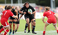 Rugby Union - 2017 Women's Rugby World Cup (WRWC) - Pool A: Canada vs. New Zealand<br /> <br /> Eloise Blackwell of New Zealand at Billings Park UCD, Dublin.<br /> <br /> COLORSPORT/LYNNE CAMERON