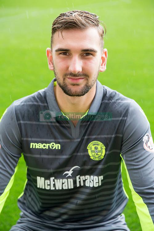 Motherwell goalkeeper Russell Griffiths