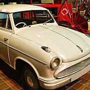 "The ""Lloyd Hartnett"" car of 1957, an attempt by a local Brisbane resident to build a ""people's car""."