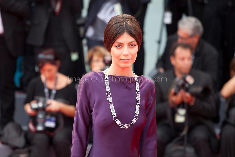 Alessandra Mastronardi at the premiere of the film Suburbicon at the 74th Venice Film Festival, Sala Grande on Saturday 2 September 2017, Venice Lido, Italy.