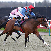 Roy's Legacy and Adam Kirby winning the 2.30 race