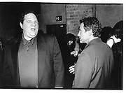 Harvey Weinstein. Harvey Keitel. Miramax Party. Brooklyn Salutes Harvey Keitel. Tribeca Grill© Copyright Photograph by Dafydd Jones 66 Stockwell Park Rd. London SW9 0DA Tel 020 7733 0108 www.dafjones.com