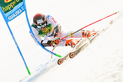 March 9, 2019 - Kranjska Gora, Kranjska Gora, Slovenia - Simon Maurberger of Italy in action during Audi FIS Ski World Cup Vitranc on March 8, 2019 in Kranjska Gora, Slovenia. (Credit Image: © Rok Rakun/Pacific Press via ZUMA Wire)