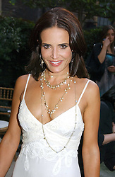 SOPHIE ANDERTON at the annual Michele Watches Summer Party held in the gardens of Home House, 20 Portman Square, London W1 on 15th June 2006.<br />