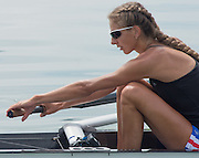 Erba, ITALY. Women's eights, Stroke hands relaxed. Russian Rowing Teams, Italian Base in Erba, Lake Pusiano. 11:46:51  Tuesday  22/07/2014  [Mandatory Credit; Peter Spurrier/Intersport-images] women's eights training at the  Russian Rowing Teams, Italian Base in Erba, Lake Pusiano. 11:51:06  Tuesday  22/07/2014  [Mandatory Credit; Peter Spurrier/Intersport-images]