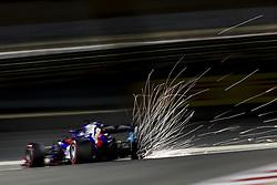 April 7, 2018 - Sakhir, Bahrain - GASLY Pierre (fra), Scuderia Toro Rosso Honda STR13, action during 2018 Formula 1 FIA world championship, Bahrain Grand Prix, at Sakhir from April 5 to 8  (Credit Image: © Hoch Zwei via ZUMA Wire)
