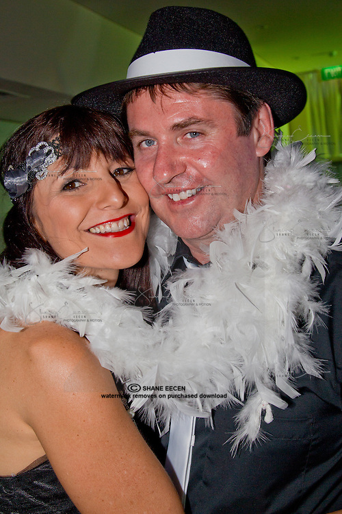 Pina Sommerville & Darren Lynch . Cancer Council Ball 2011. Photo Shane Eecen