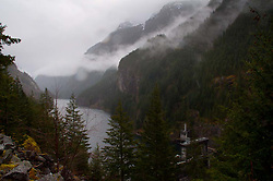 Gorge Dam, North Cascades National Park, Washington, US