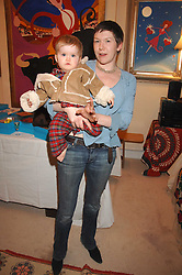 LADY GEORGINA CAMPBELL and her daughter MARTHA CAMPBELL at a sale of pictures and gifts at Kitty Arden's home in Chelsea, London on 29th November 2007.<br /><br />NON EXCLUSIVE - WORLD RIGHTS
