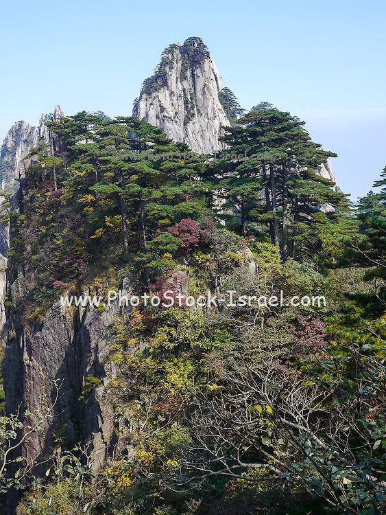 Huangshan (Yellow Mountain) Anhui, China