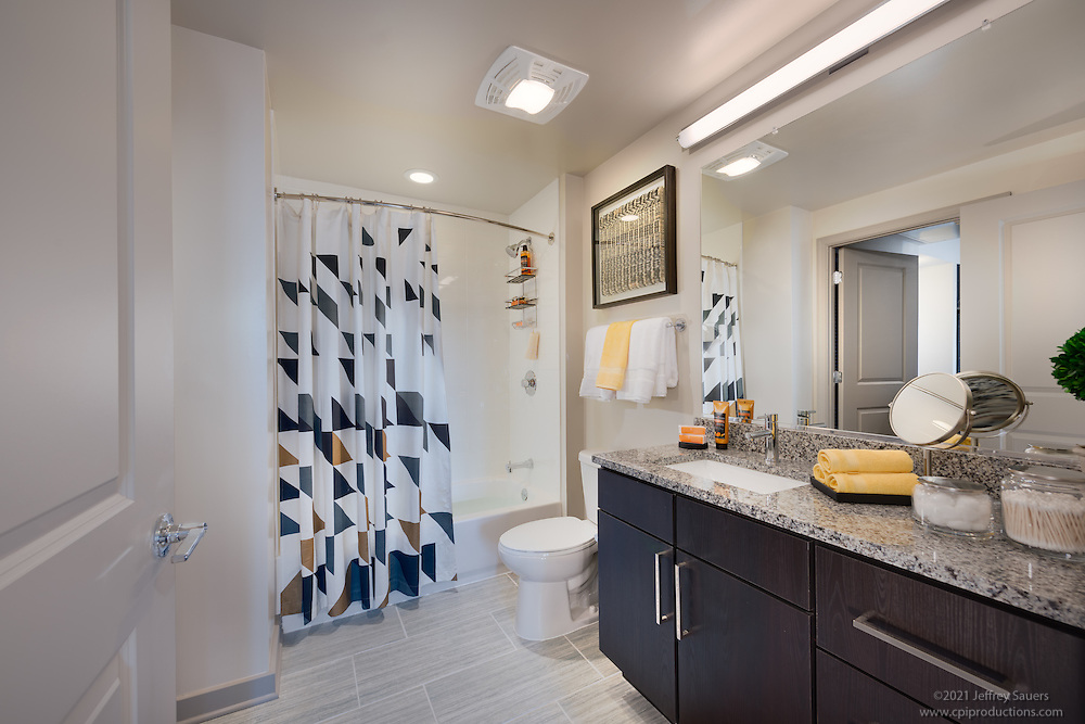 Virginia Interior design image of Union on Queen apts in Arlington Virginia by Jeffrey Sauers of  Commercial Photographics, Architectural Photo Artistry in Washington DC, Virginia to Florida and PA to New England