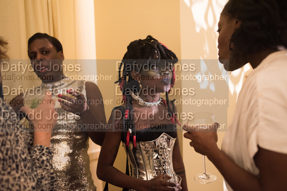 NANA DABANKA, JOJO ABOT, Ghana party, Venice, 8 May 2019