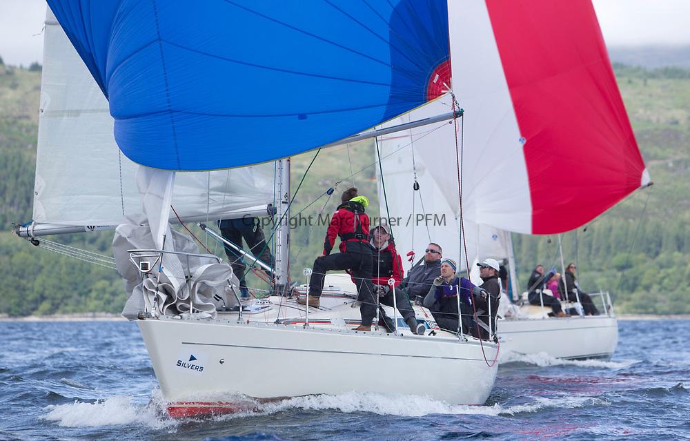 Silvers Marine Scottish Series 2017<br /> Tarbert Loch Fyne - Sailing<br /> <br /> IRL16010, Busy Beaver, M Bradshaw,J Gallagher, Cove Sailing Club, Sigma 33 OOD<br /> <br /> Credit: Marc Turner / CCC