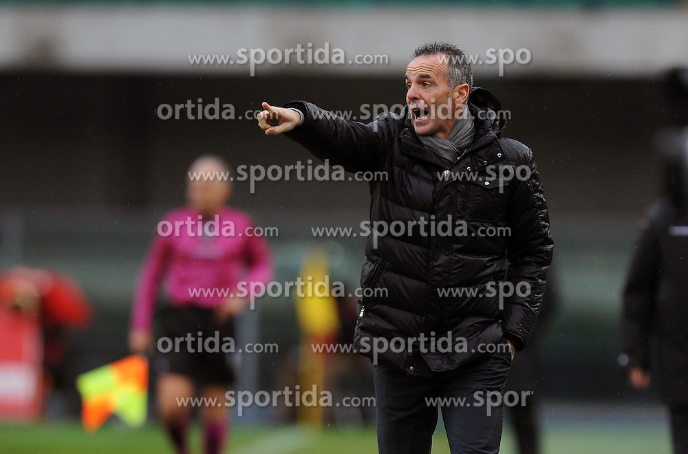 21.11.2010, Stadio Bentegodii, Verona, ITA, Serie A, Chievo Verona, vs Inter Mailand, im Bild Stefano PIOLI Chievo., EXPA Pictures © 2010, PhotoCredit: EXPA/ InsideFoto/ Nicolo' Zangirolami *** ATTENTION *** FOR AUSTRIA AND SLOVENIA USE ONLY!