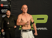 CEDRIC DOYLE during EFC Africa 26 Weigh-in, 11 December  2013, The Dome, Johannesburg.