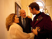 BARONESS ALIN VON BUCH; BARON DIEGO VON BUCH; MICHELE CODONI;The launch of PINTA 2010. The Argentine AmbassadorÕs Residence, 49 Belgrave Square, London SW1. 20 April 2010.<br /> BARONESS ALIN VON BUCH; BARON DIEGO VON BUCH; MICHELE CODONI;The launch of PINTA 2010. The Argentine Ambassador's Residence, 49 Belgrave Square, London SW1. 20 April 2010.
