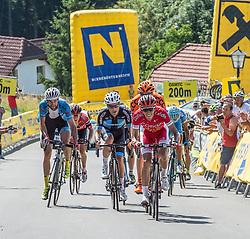 05.07.2016, Sonntagberg, AUT, Ö-Tour, Österreich Radrundfahrt, 2. Etappe, Ardagger Markt nach Sonntagberg, im Bild v.l. Markus Eibegger (AUT, Team Felbermayr Simplon Wels), Marek Rutkiewicz (POL, Wibatech-Fuji), Stephane Rossetto (FRA, Cofidis, Solution Credits) am Sonntagberg // during the Tour of Austria, 3rd Stage from Ardagger Markt to Sonntagberg, Austria on 2016/07/05. EXPA Pictures © 2016, PhotoCredit: EXPA/ Reinhard Eisenbauer