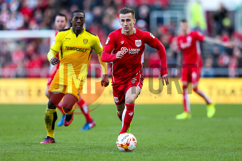 Joe Bryan of Bristol City - Rogan Thomson/JMP - 04/03/2017 - FOOTBALL - Ashton Gate - Bristol, England - Bristol City v Burton Albion - Sky Bet EFL Championship.