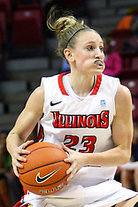 20121207 Northwestern v Illinois State Women's Basketball photos