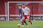 Sheffield United forward Che Adams  during the The FA Cup match between Sheffield Utd and Oldham Athletic at Bramall Lane, Sheffield, England on 5 December 2015. Photo by Simon Davies.