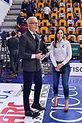 Guido Bagatta, Giulia Cicchinè<br /> Banco di Sardegna Dinamo Sassari - Segafredo Virtus Bologna<br /> Legabasket LBA Serie A 2019-2020<br /> Sassari, 22/12/2019<br /> Foto L.Canu / Ciamillo-Castoria