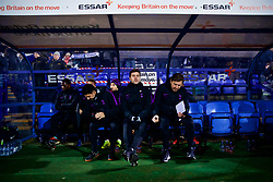 BIRKENHEAD, ENGLAND - Friday, January 4, 2019: Tottenham Hotspur's manager Mauricio Pochettino before the FA Cup 3rd Round match between Tranmere Rovers FC and Tottenham Hotspur FC at Prenton Park. (Pic by David Rawcliffe/Propaganda)