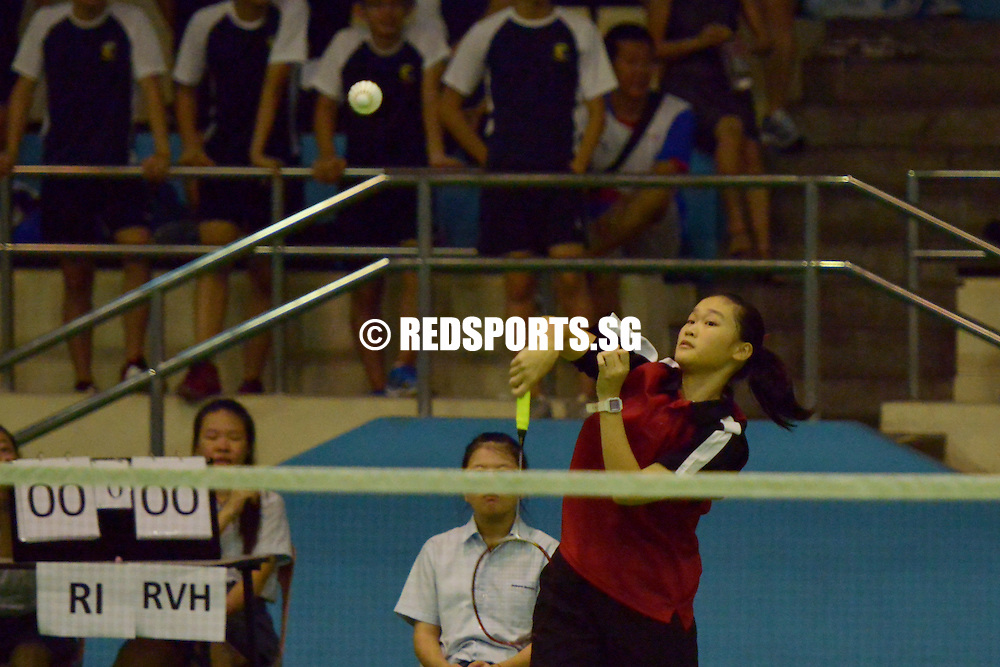 2014 A Division badminton River Valley High