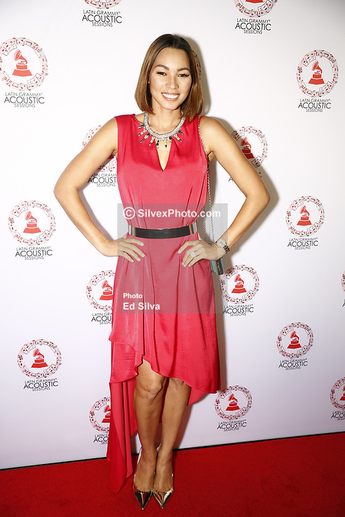 LOS ANGELES, CA - SEP 20: Yisney Terrero attends The Latin GRAMMY Acoustic Sessions at The Novo Theater September 20, 2017, in Downtown Los Angeles. Byline, credit, TV usage, web usage or linkback must read SILVEXPHOTO.COM. Failure to byline correctly will incur double the agreed fee. Tel: +1 714 504 6870.