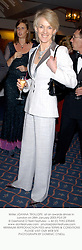 Writer JOANNA TROLLOPE  at an awards dinner in London on 28th January 2003.PGS 29
