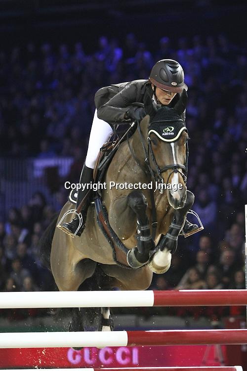 Equitation : Gucci Masters - 03.12.2010 - Rolex Speed Challenge CSI5 - Penelope Leprevost (FRA/ sur Belle Dame D) *** Local Caption *** 00042820