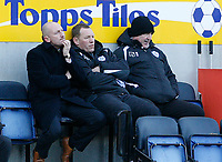 Photo: Steve Bond/Richard Lane Photography. <br />Leicester City v Hull City. Coca Cola Championship. 21/03/2008. Leicester manager Ian Holloway (L) ponders the way the game is going