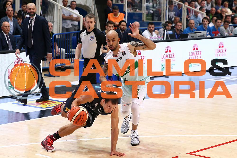 Craft Aaron<br /> Dolomiti Energia Trentino vs Sidigas Avellino<br /> Lega Basket Serie A 2016/2017<br /> Trento, 07/05/2017<br /> Foto Ciamillo-Castoria/A. Gilardi