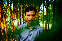 A portrait of a Vietnamese man in the central provinces.