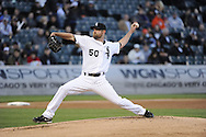 CHICAGO - MAY 25:  John Danks #50 of the Chicago White Sox pitches against the Miami Marlins on May 24, 2013 at U.S. Cellular Field in Chicago, Illinois.  The White Sox defeated the Marlins 4-3.  (Photo by Ron Vesely)  Subject:   John Danks