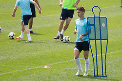 Luka Zahovic during training of Slovenian national football team before friendly match against Montenegro, on May 30, 2018 in National Football Centre, Brdo pri Kranju, Kranj, Slovenia. Photo by Urban Urbanc / Sportida