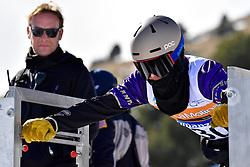 GEROS Garrett, SB-LL2, USA, Snowboard Cross at the WPSB_2019 Para Snowboard World Cup, La Molina, Spain