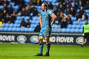London Irish back row Arno Botha (6) looks dejected during the Aviva Premiership match between Wasps and London Irish at the Ricoh Arena, Coventry, England on 4 March 2018. Picture by Dennis Goodwin.