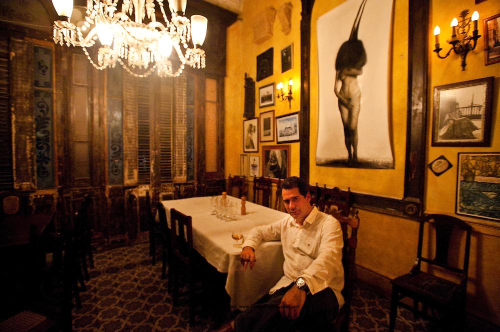 Enrique Nunez del Valle, Restaurant La Guarida, Habana, Cuba